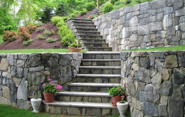 Stone Walkways and Steps
